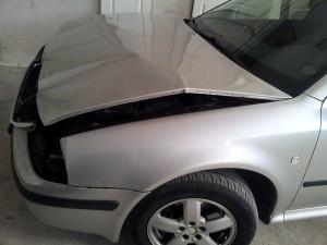 Ремонт авто после дтп: Skoda